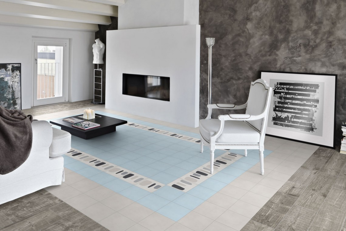 tapis de sol r alis avec des carreaux de ciment edil carrelage et salle de bain 94. Black Bedroom Furniture Sets. Home Design Ideas