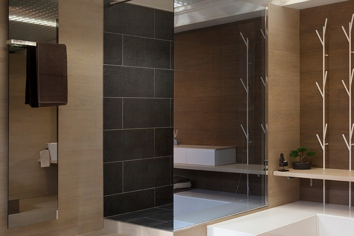 cabine de douche walk in edil carrelage et salle de bain 94. Black Bedroom Furniture Sets. Home Design Ideas