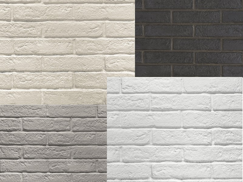 CARRELAGE MURAL BRICK NEW YORK WHITE
